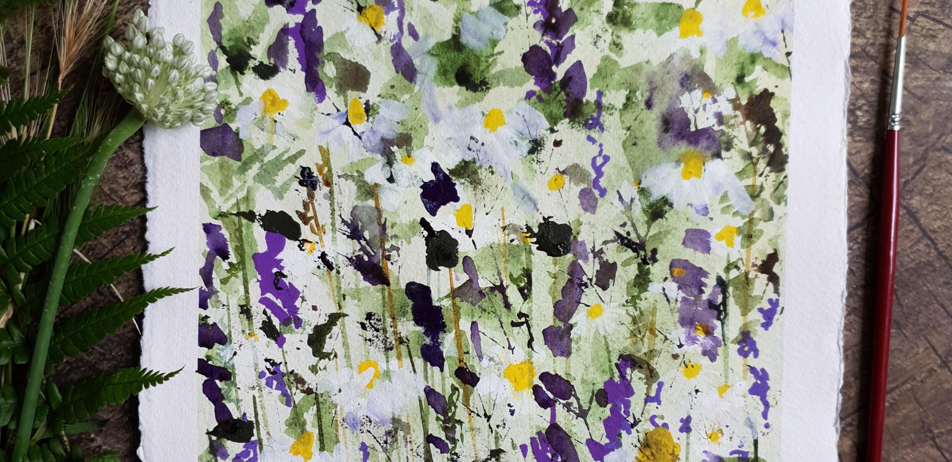 Walking through the Wildflowers