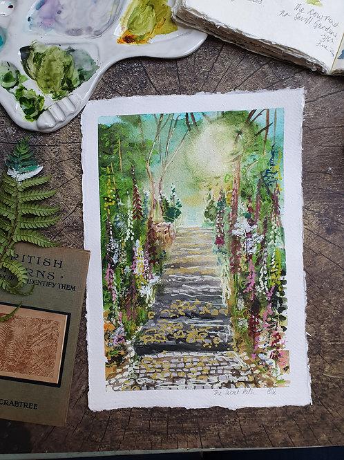 The Secret Path - A4 Art print