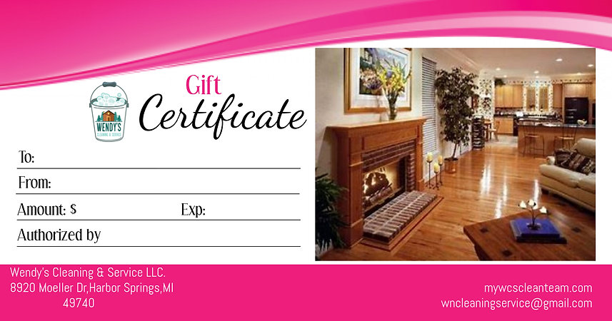Copy of Copy of Gift Certificate - Made