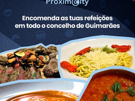 Entregas gratuitas para todo o concelho de Guimarães