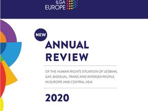 Вышел годовой обзор ILGA— 2020