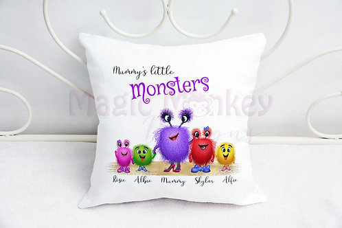 Mummy's Little Monsters Cushion