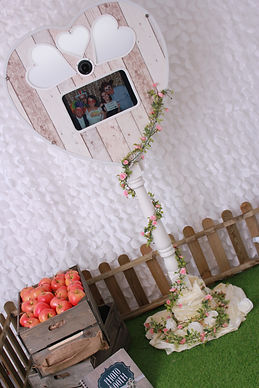 Rustic Heart Booth Essex