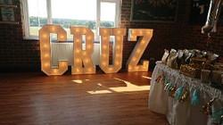 Letters name Cruz