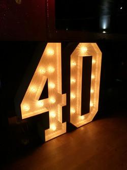4ft slimline numbers 40