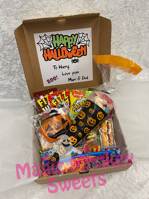 Personalised Halloween Treat Box