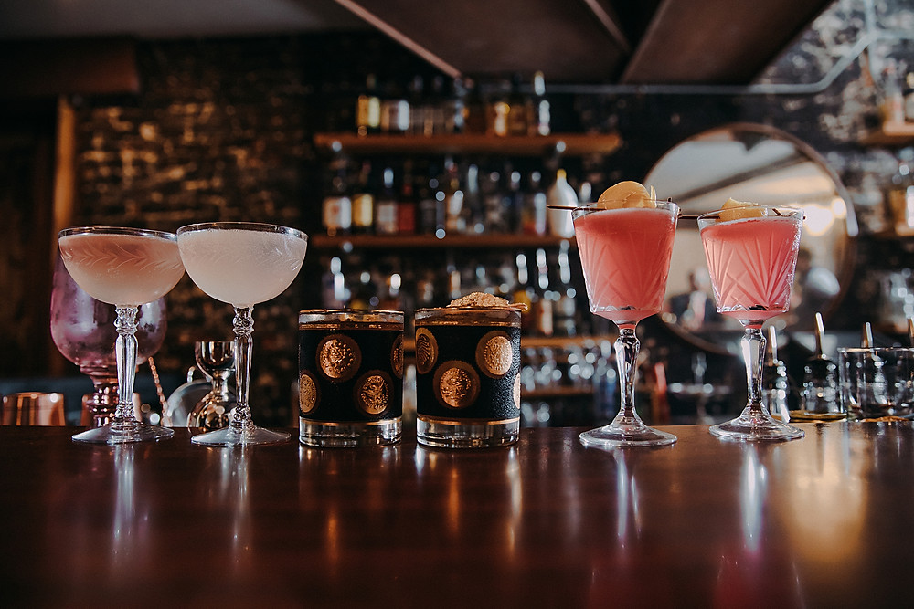 collection of signature cocktails