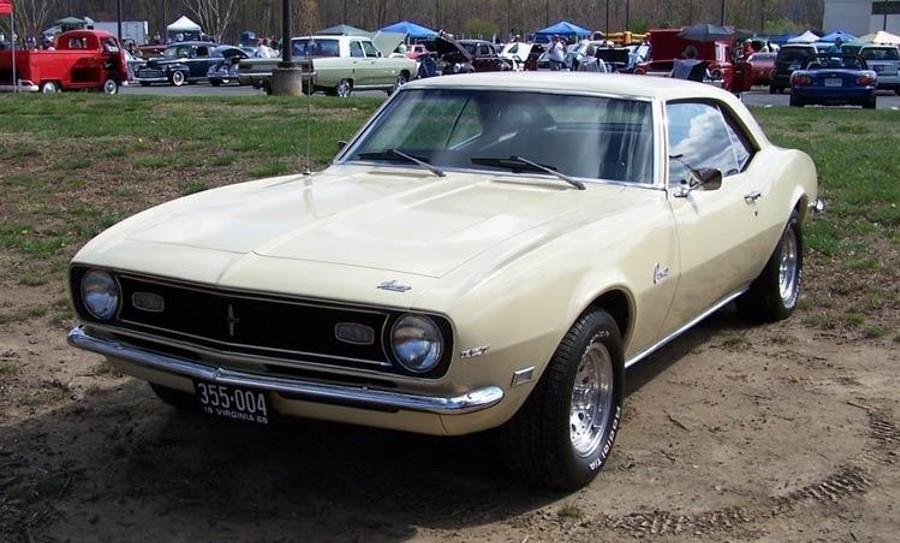 Jack Thompson 1968 Camero with 73000 original miles