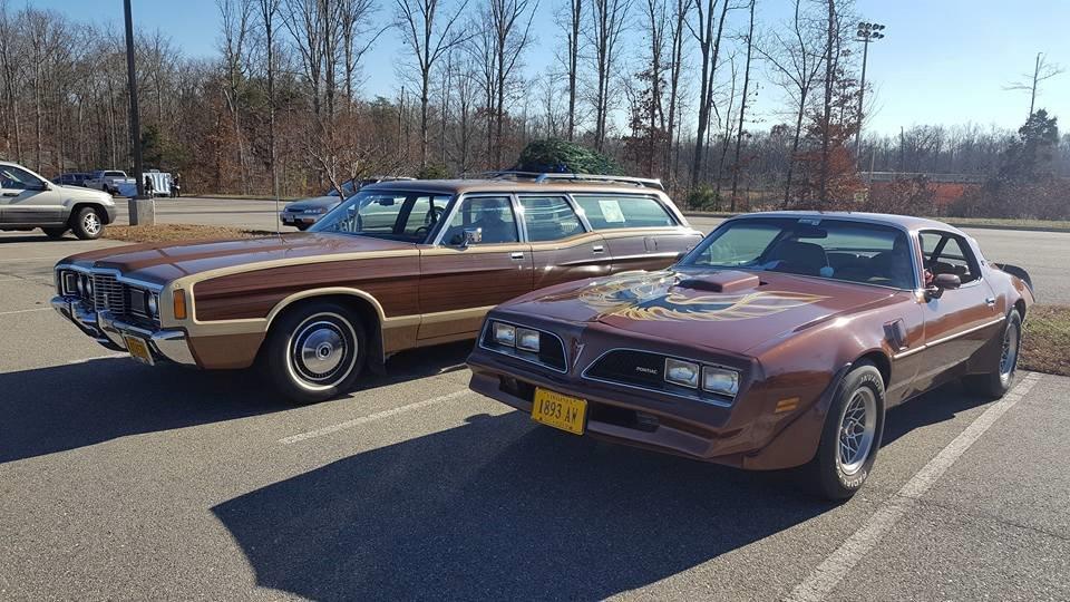 72 Ford LTD Wagon, 78 Trans Am