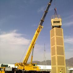 DUCS Tower construction