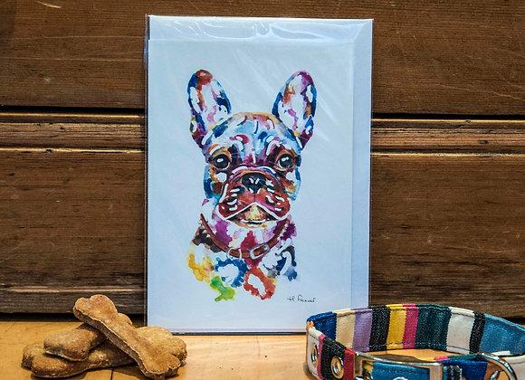 Greeting Card - French Bulldog