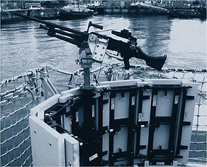 Maritime ballistic protection