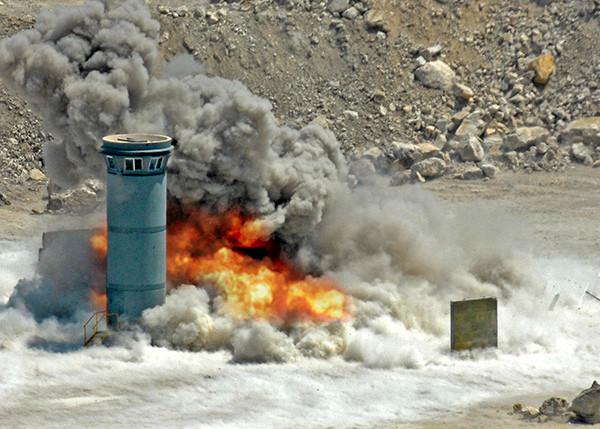 Dynatower - Test Explosion
