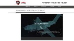 Exsel Dytecna - A400M Video