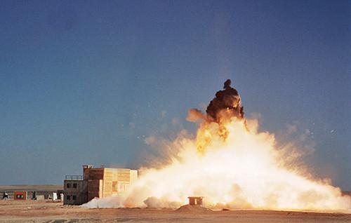 Secure Accommodation Blocks Test Explosion