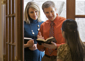 Jehovah's Witness At The Door