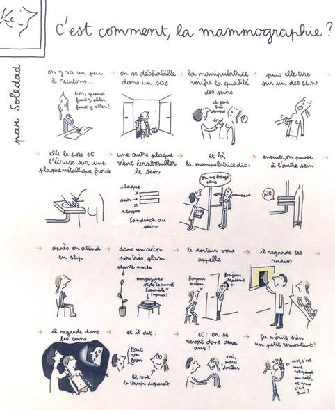 La mammographie vue par Soledad