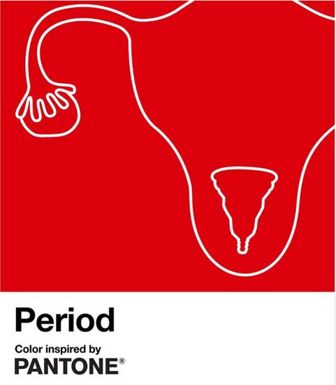 Pantone lance un nouveau rouge contre la stigmatisation des menstruations
