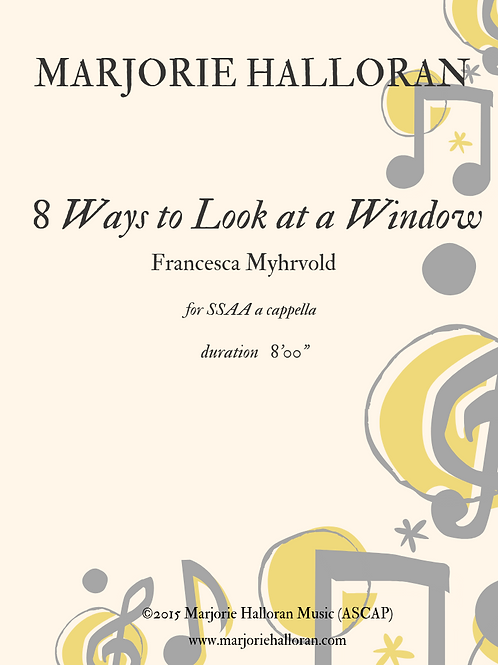 8 Ways to Look at a Window