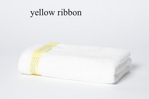 yellow ribbon bath towels
