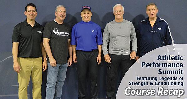 Athletic Performance Summit | Recap