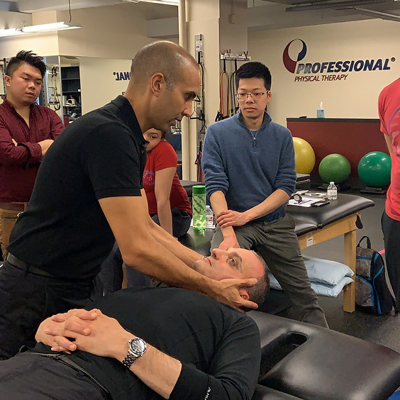 Open Packed Spinal Manipulation