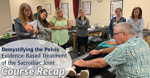 DTP 2019 - Demystifying the Pelvis RECAP