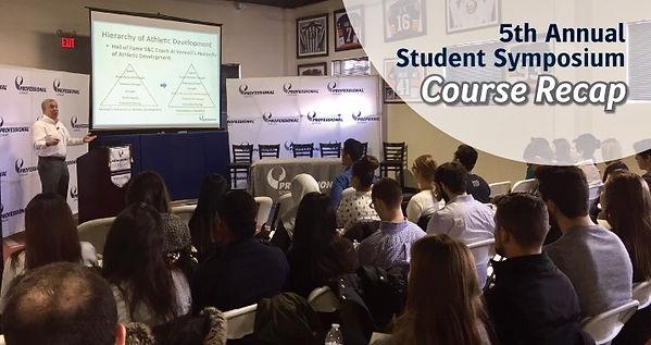 5th Annual Student Symposium | Recap