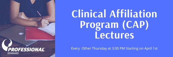 Clinical Affiliation Program (CAP) Lectu