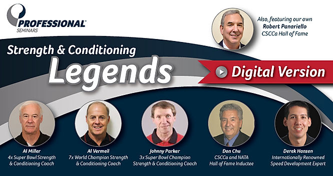 Strength and Conditioning Legends Couse - Digital Version