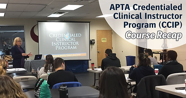 APTA CCIP | Recap