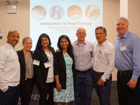 Allied Health Professionals Receive Expert Knowledge and Hands-On Guidance from Professional Physica