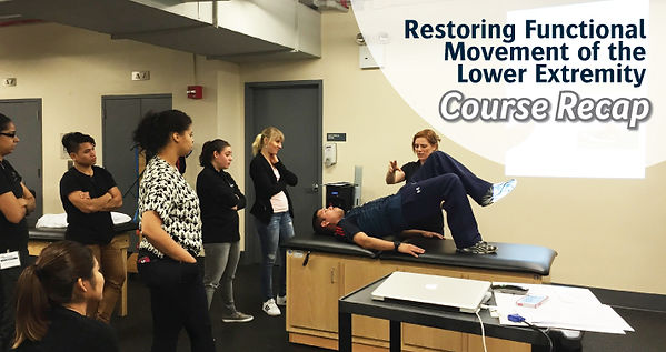 Lower Extremity Functional Movement | Recap