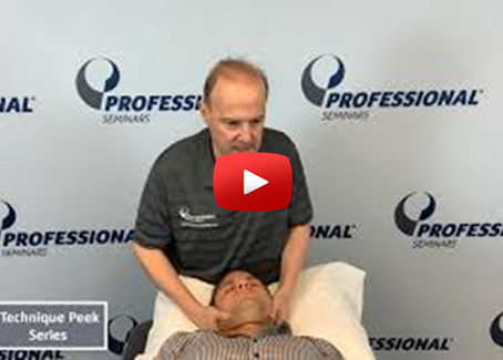 Technique Peek Video - Cervical Upglide Manipulation