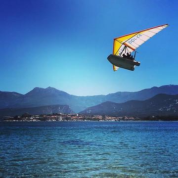 Le bateau volant au large de Saint Florent