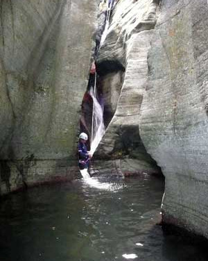 Altore canyoning