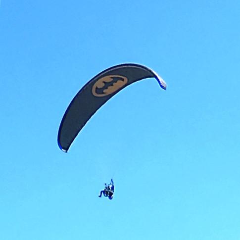 Batman watches over Saint Florent