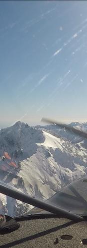 Monte d'Oro, Renoso et la Sardaigne au loin