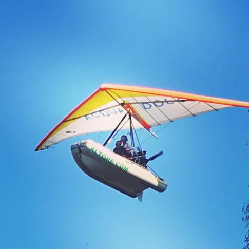 The flying inflatable boat from Altore
