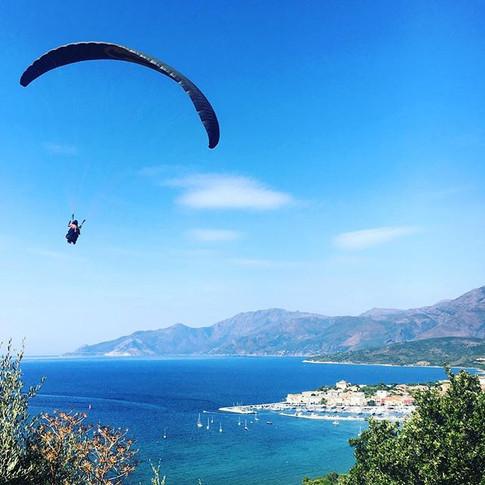 Paragliding in Saint Florent