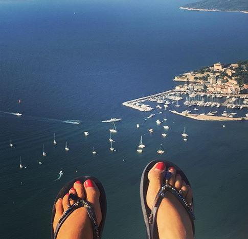 Tandem paragliding in Saint Florent