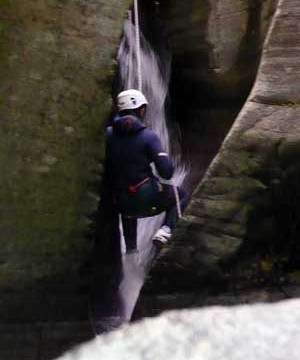Altore canyoning