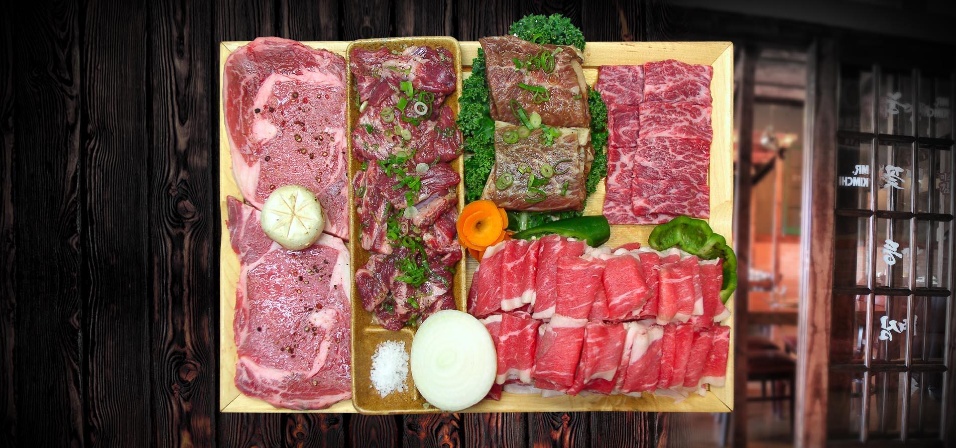 Mr Kimchi BBQ Combo BEEF