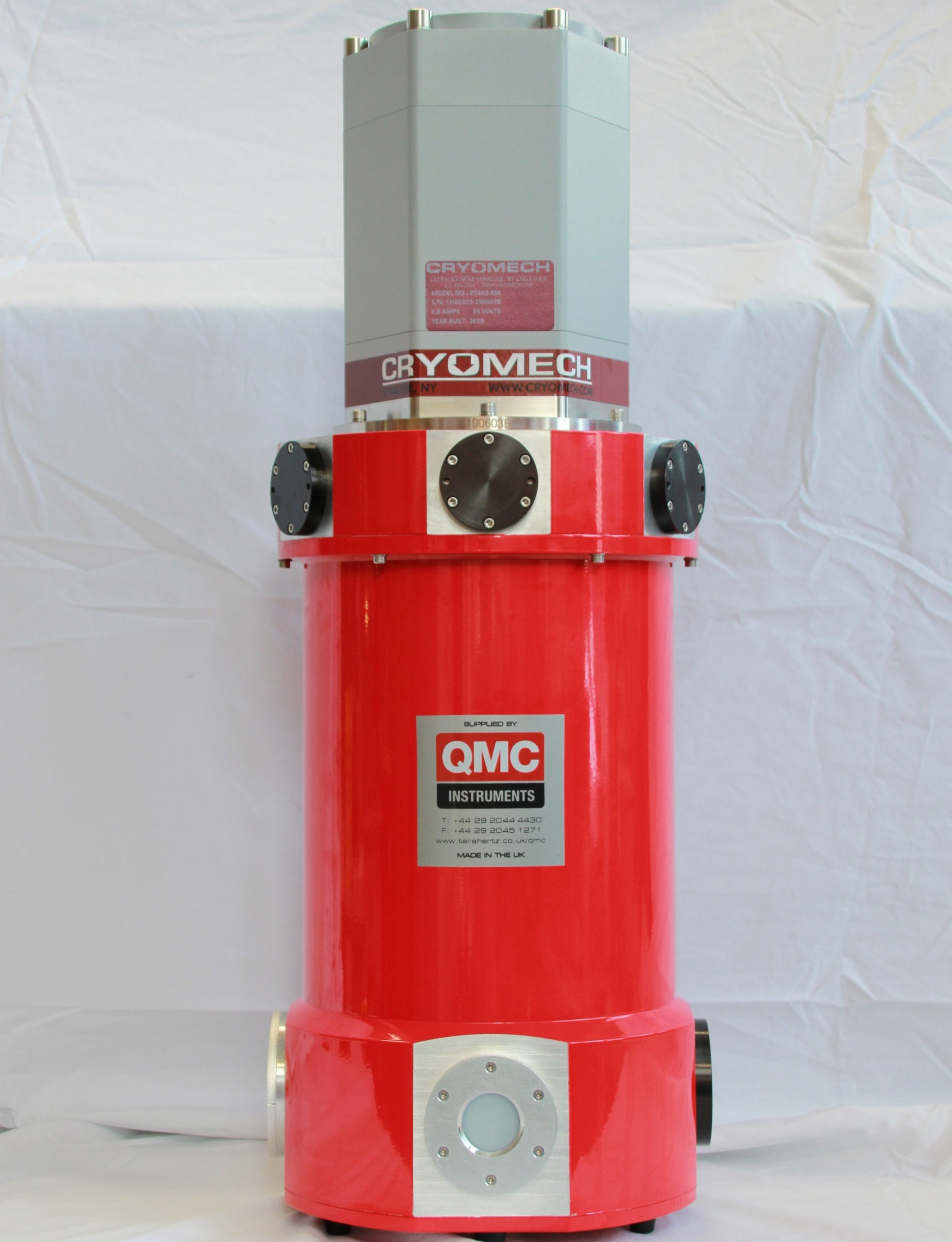 Dry Cryogenic Detector Systems