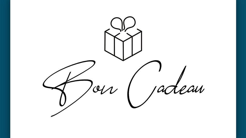 Bon Cadeau 2 Menus Découverte