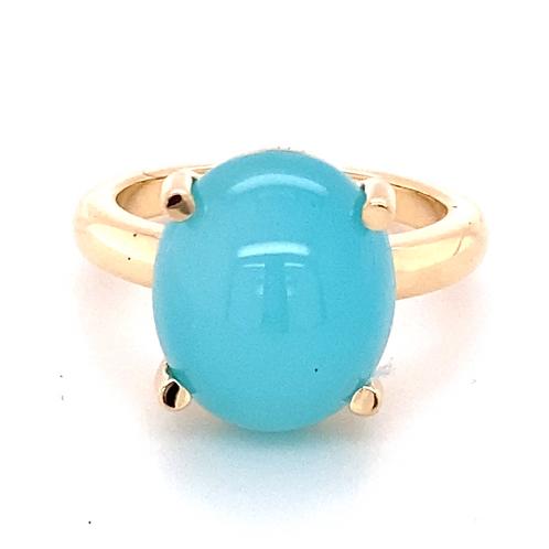 Design Chalcedon Ring /750GG