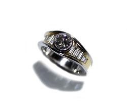 Kollektion Unikat Ring 750 Gold Brilliant