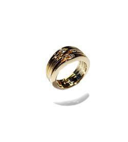 Ring 750 Gelbgold Brillianten