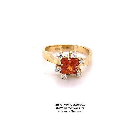 Unikat Design Saphir Ring