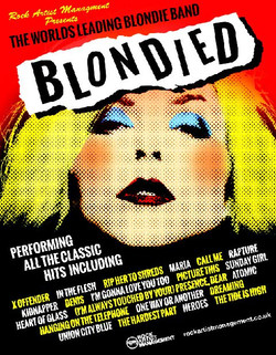 Blondied Poster